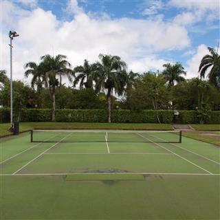 PLCC Tennis and Basketball Court